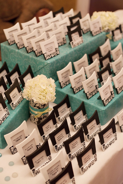 Favors and Table Seating