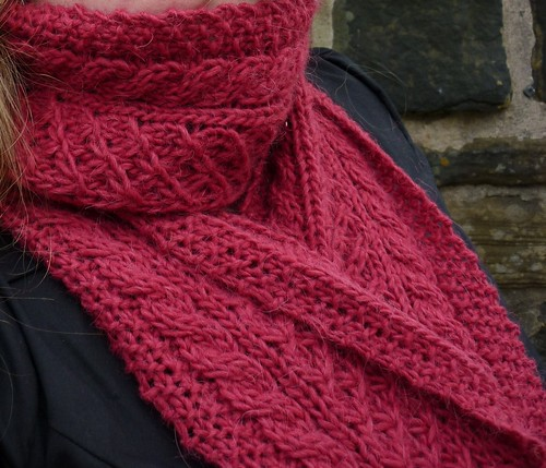 100922 - poinsettia scarf06