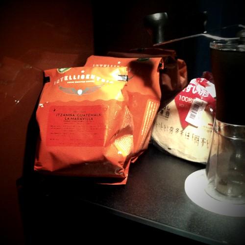 Intelligentsia beans & Hario Filters