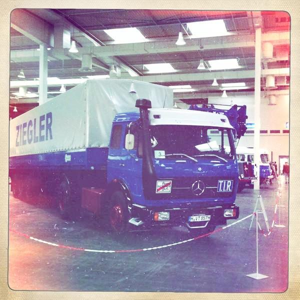 Classic Mercedes @ IAA, Hanover