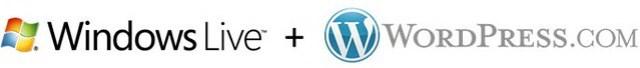 Windows Live + WordPress.com