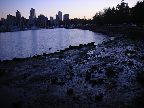 Sunset at Stanley Park
