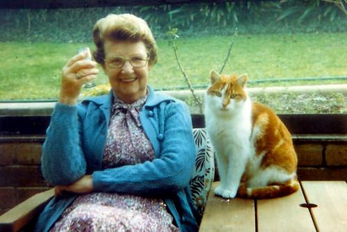 Grandma with Jonathon July '82