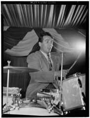 Portrait of Gene Krupa, 400 Restaurant, New York