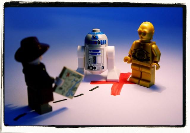 Indiana Jones and the Droids They're Looking For