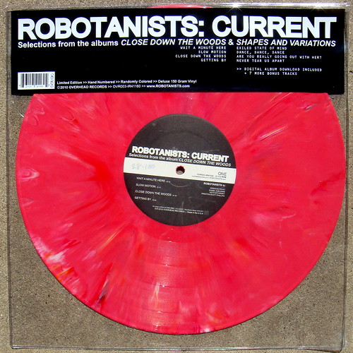 "ROBOTANISTS: Current 12"" Vinyl / PINK - DSC02185"