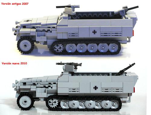 Nueva versión del SdKfz 251 Ausf. D de Panzerbricks