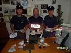Roma: arrestato per spaccio disoccupato con