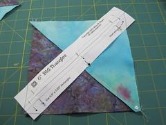 Composing quarter square triangles