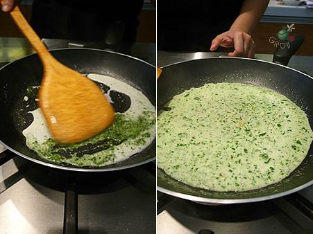 青醬加熱中