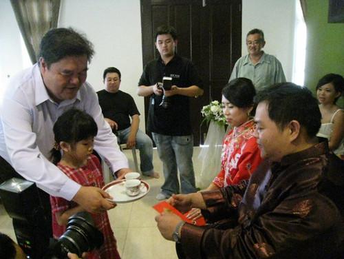 Leo's wedding 3 - The tea ceremony
