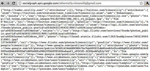 Google other me - from email