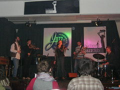 Fabatka feat. Andrea Gerak at Budapest Jazz Club, 2009 March
