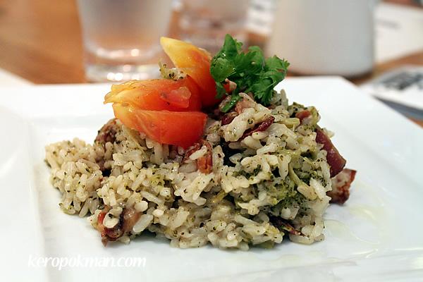Broccoli & Bacon Risotto