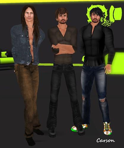 MHOH4 # 127 - NLimbo Poses The Guys Pose