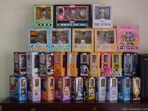 Nendoroid boxes pyramid? - some of them are still unopened