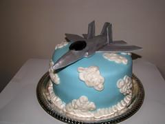 Fighter Jet Cake