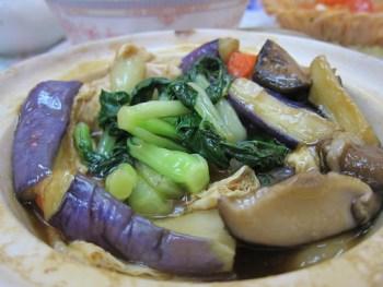 eggplant claypot 2
