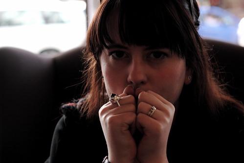 Sarah-Rose = Nervous