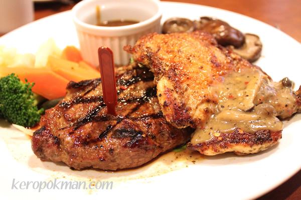 Steak & Chicken Combo