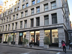 Luxury retail, SoHo