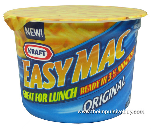 Review Kraft Big Ass Easy Mac Cups The Impulsive Buy