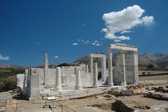 Naxos: Dimitra-Tempel