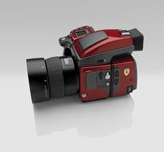 H4D Ferrari Edition (left)