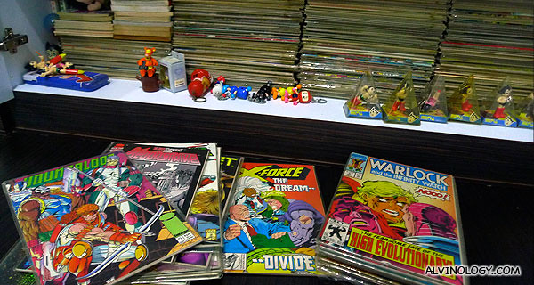 My American comics collection