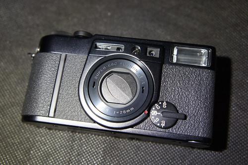 Fujifilm klasse w 外觀