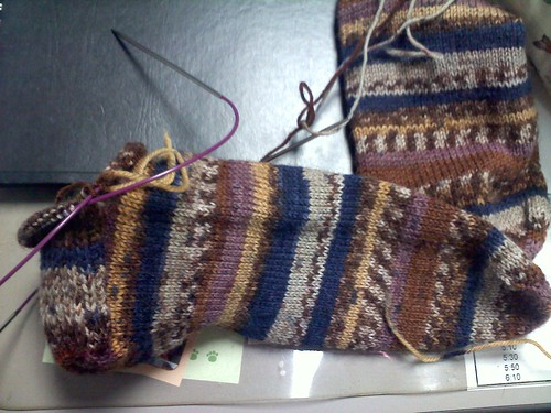Sock 2 in progress