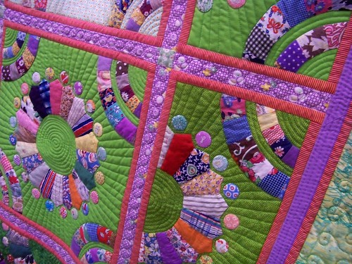 """Vermont Quilt Festival - """"Orphan Blossoms"""" - Timna Tarr"""