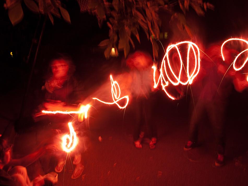 Sparkler Dance