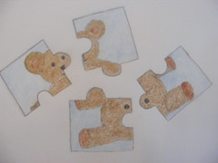 My Jigsaw sketch for Sketch Tuesday - something beginning with 'J'