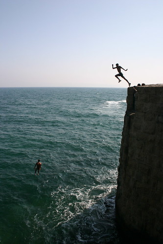 Cliff Jumping 3