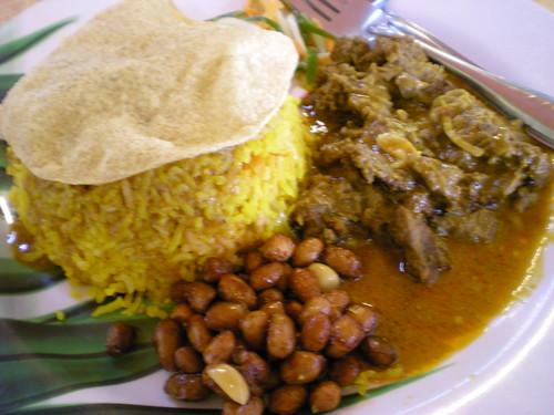 Rafie's nasi bryani - beef