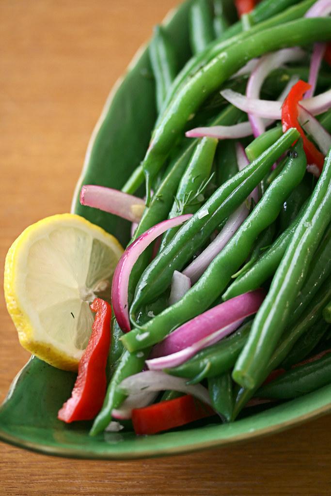 Lemon-Dill Green Beans