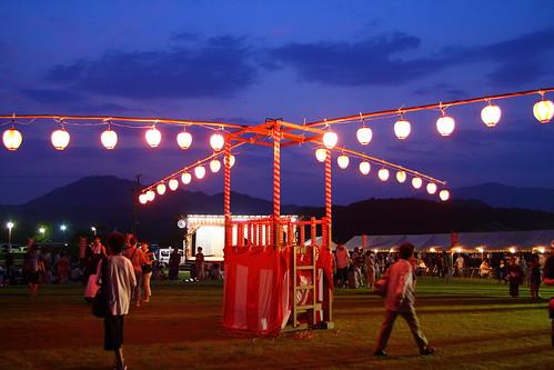 Festival pavilion
