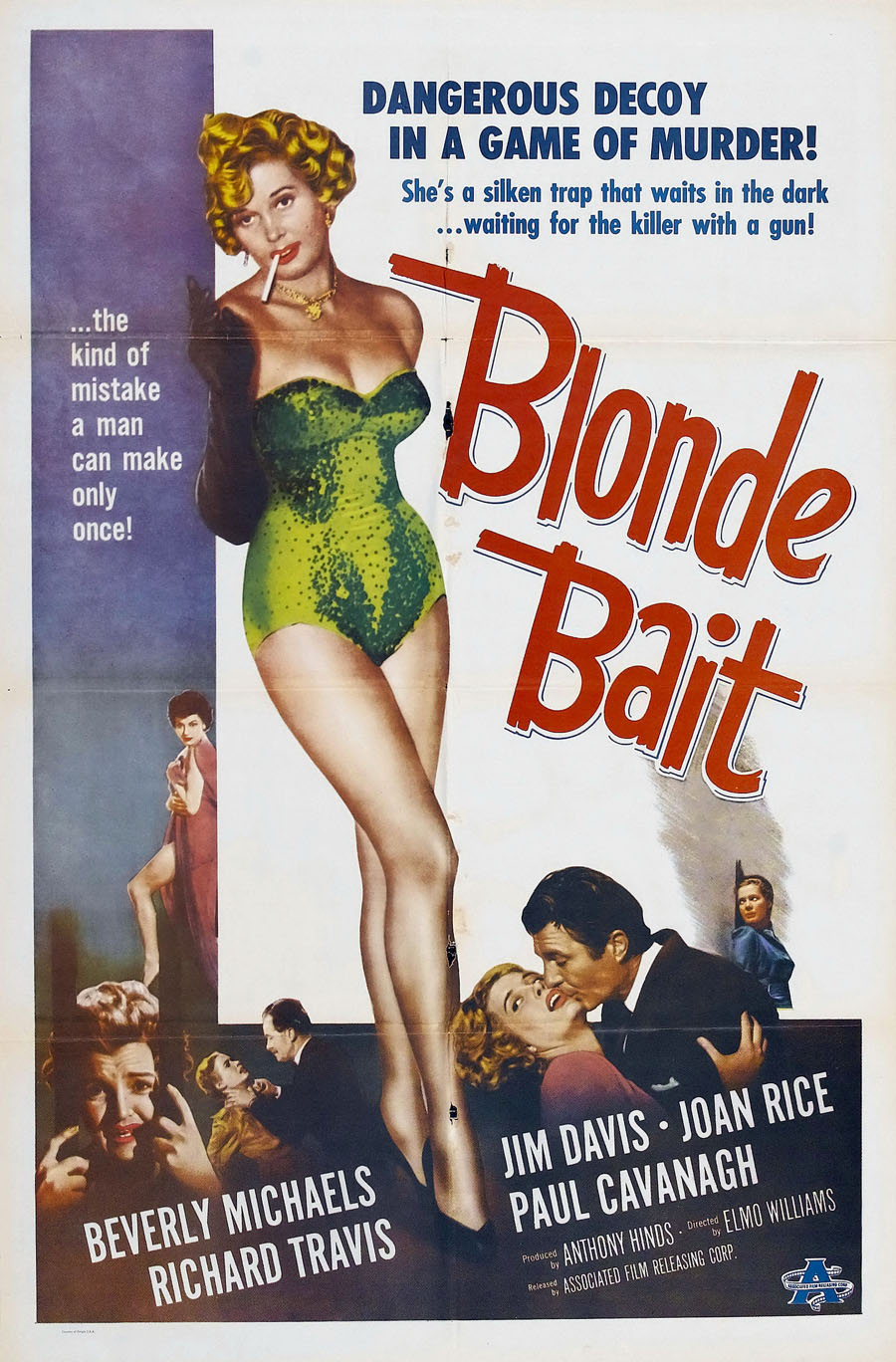Blonde Bait  - Poster (1956)