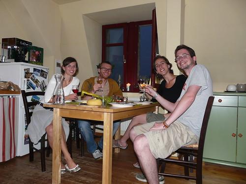 Con Katherina y Martin