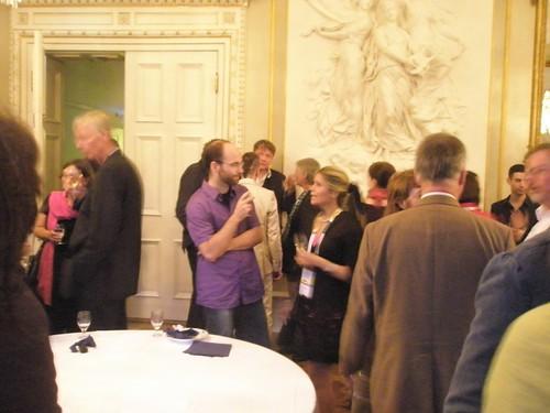 goethe institute reception at IFLA2010 in Gothenburg