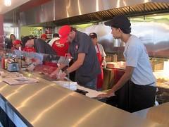 Burgers in Process - Burger Garage