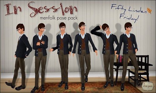 In Session: FLF Mens Pose Pack!