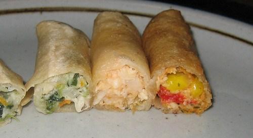 Lean Cuisine Casual Cuisine Spring Rolls Innards