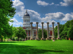 The Columns at the University of Missouri