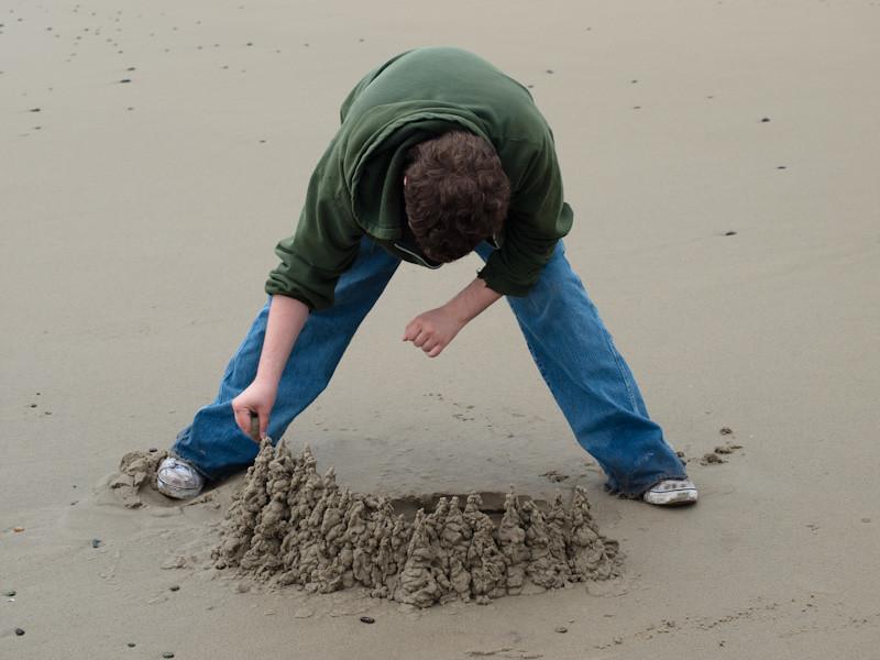 Ezra's Sandcastle