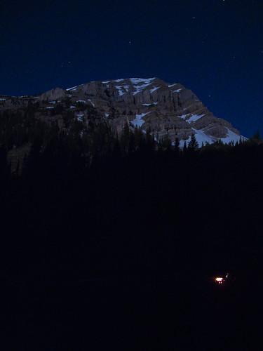 Moonlit Antoinette Peak