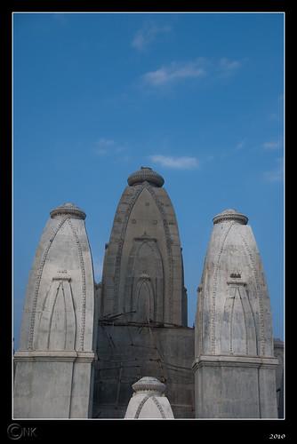 Omkar Hills | Temple Construction