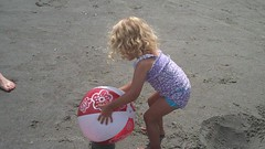 Violet And The Beach Ball