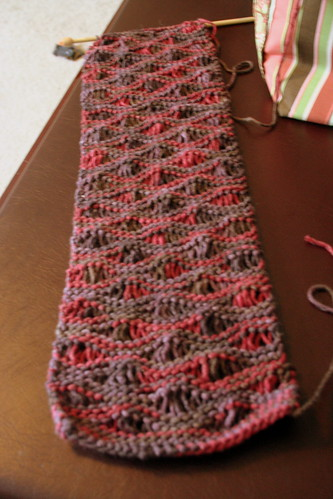 WIP: My First Scarf